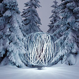 Lightmark No.24, Harz, Germany, Light Painting, Night Photography.