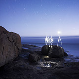 Lightmark No.77, William Bay National Park, Western Australia, Light Painting, Night Photography.